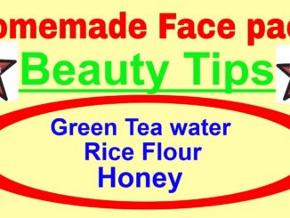 homemade face pack beauty tips