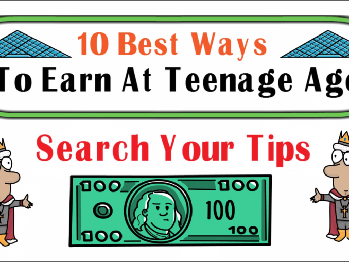 How to Earn Money as a Teenager